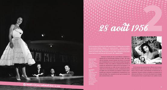 Pages de l'ouvrage Dalida, une vie pour l'amour