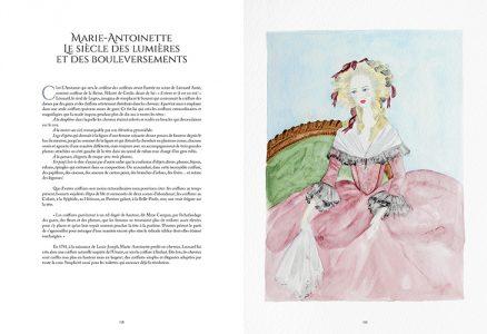 Pages de l'ouvrage Histoire de la Coiffure