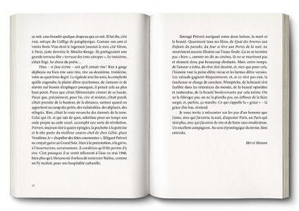 Pages de l'ouvrage Prévert l'irréductible