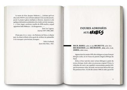 Pages de l'ouvrage Maudits Mots