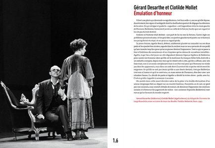 Pages de l'ouvrage Instants de Théâtre