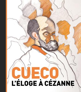 Couverture de l'ouvrage Cueco, l'éloge à Cézanne