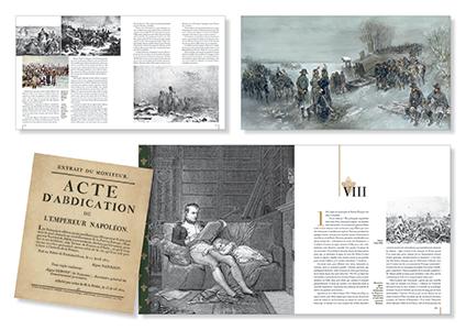Pages de l'ouvrage Moi, Napoléon Bonaparte