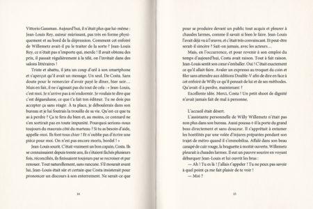 Pages intérieures de l'ouvrage Il e(s)t moi