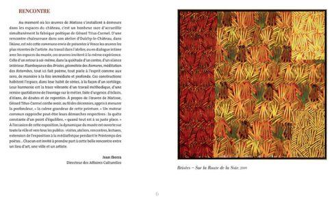 Pages intérieures de l'ouvrage la Ramures et Retombes