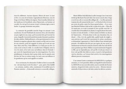 Pages intérieures de l'ouvrage Sekt