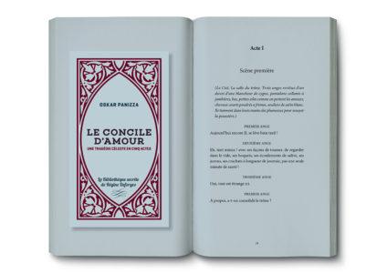 Pages intérieures de l'ouvrage le Concile d'Amour