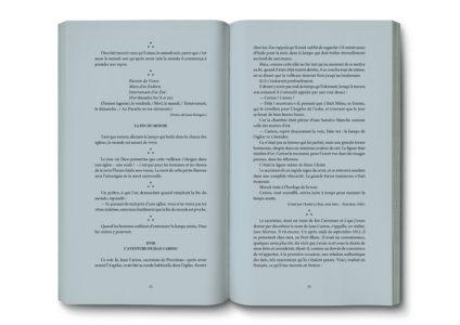 Pages intérieures de l'ouvrage la Légende de la Mort