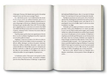 Pages intérieures de l'ouvrage le Cercle des Subtils