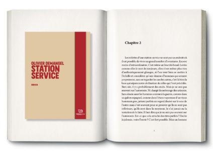 Pages intérieures de l'ouvrage Station service