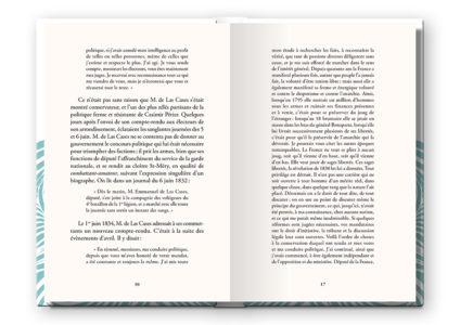 Pages intérieures de l'ouvrage Journal écrit à bord de la frégate la Belle Poule