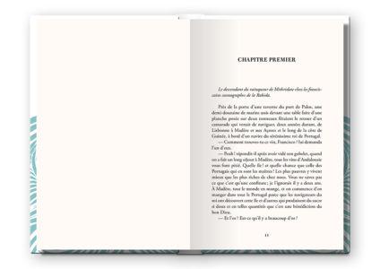 Pages intérieures de l'ouvrage la Véridique aventure de Christophe Colomb