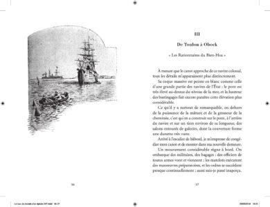 Pages intérieures de l'ouvrage le Tour du Monde d'un épicier