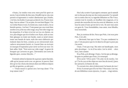 Pages intérieures de l'ouvrage les Terres du Mal