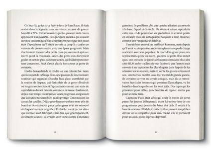 Pages intérieures de l'ouvrage On peut survivre à toutes les overdoses sauf à une overdose d'amour
