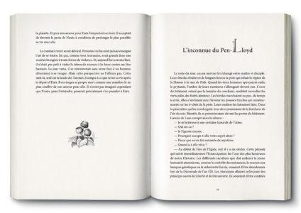 Pages intérieures de l'ouvrage la Forteresse de Téhama
