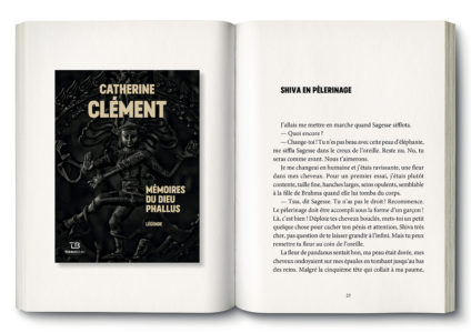 Pages intérieures de l'ouvrage Mémoires du dieu Phallus