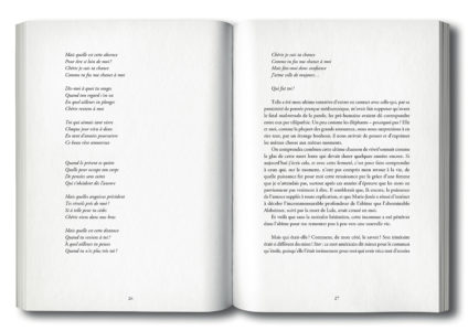 Pages intérieures de l'ouvrage Pour une philosophie du jardin