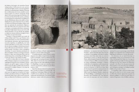Pages intérieures de l'ouvrage l'Église d'Abu Gosh