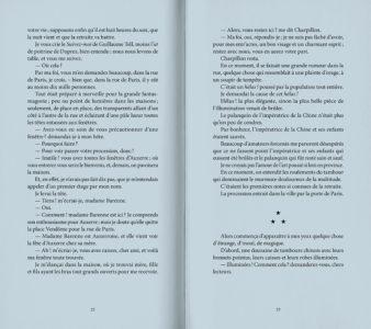 Pages intérieures de l'ouvrage Propos d'art et de cuisine