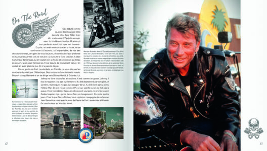Pages intérieures de l'ouvrage Road Trip - Johnny Hallyday on the road