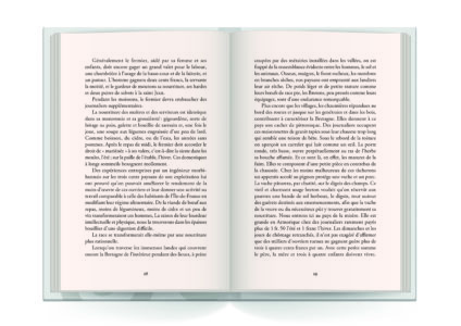 Pages intérieures de l'ouvrage la Bretagne Vivante