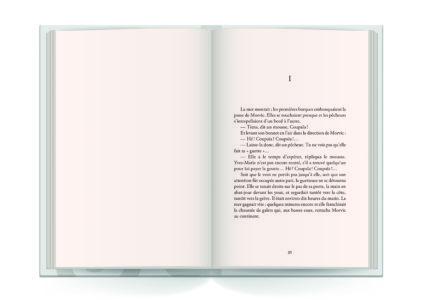 Pages intérieures de l'ouvrage le Crucifié de Keraliès