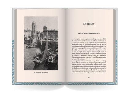 Pages intérieures de l'ouvrage Dans les Tempetes du Cap Horn