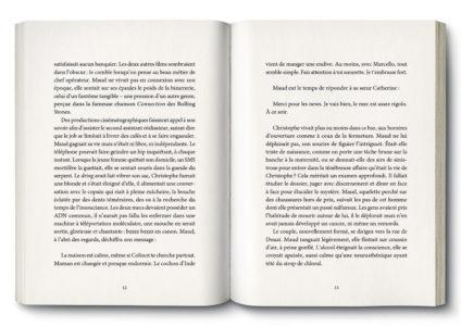 Pages intérieures de l'ouvrage Double Peine