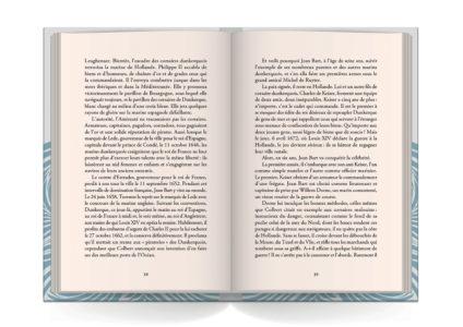 Pages intérieures de l'ouvrage Jean Bart