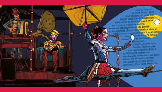 Pages intérieures de l'ouvrage Carnival
