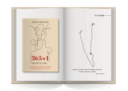 Pages intérieures de l'ouvrage 365 + 1