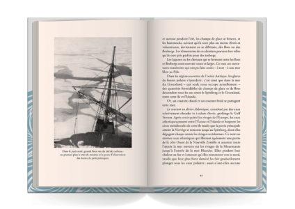 Pages intérieures de l'ouvrage Dans la mer du Groenland