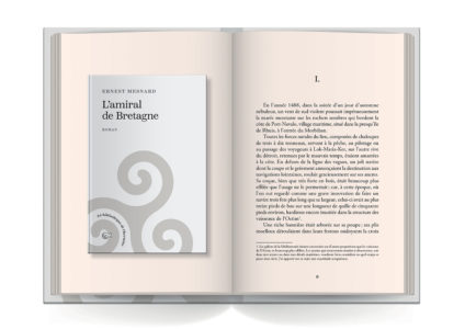 Pages intérieures de l'ouvrage L'Amiral de Bretagne