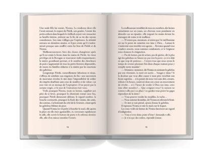 Pages intérieures de l'ouvrage Le Marquis de Pontcallec