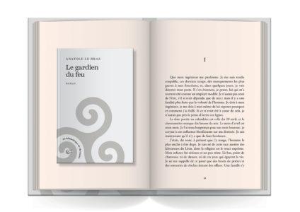 Pages intérieures de l'ouvrage Le gardien du feu