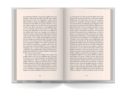 Pages intérieures de l'ouvrage Les derniers Bretons