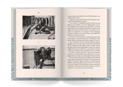 Pages intérieures de l'ouvrage Seul à travers l'Atlantique