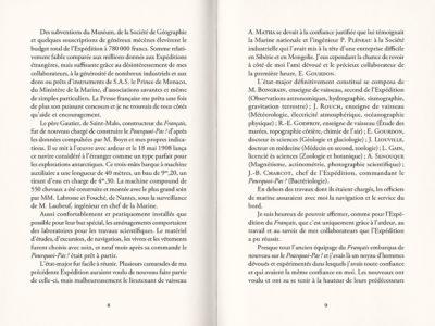 Pages intérieures de l'ouvrage Autour du Pôle Sud #2