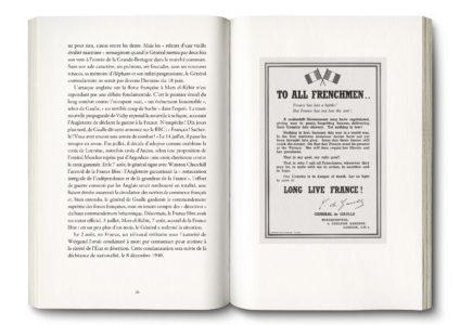 Pages intérieures de l'ouvrage De Gaulle, la Fabrique du héros - broché