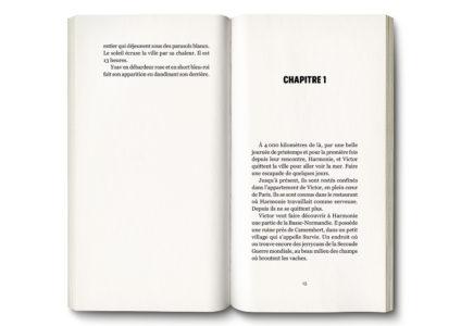 Pages intérieures de l'ouvrage Harmonie - Chroniques de ceux d'à-côté