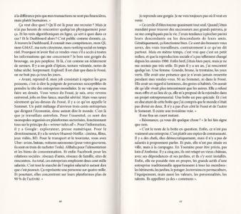 Pages intérieures de l'ouvrage 2039, l'humain en question
