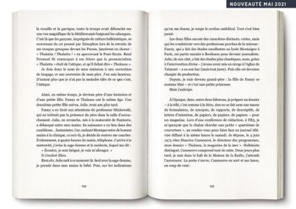 Pages intérieures de l'ouvrage Bon Vent !