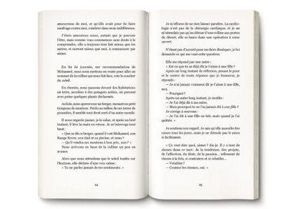 Pages intérieures de l'ouvrage l'Éloge du Cygne'