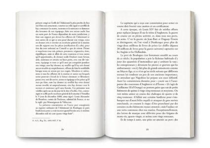 Pages intérieures de l'ouvrage les Corsaires'